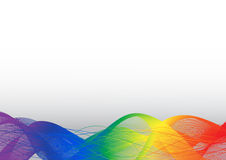 Ranbow on white vector background Stock Photo