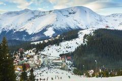 Ranca Ski Resort, Rumänien royaltyfri foto