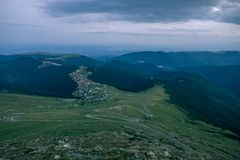 Ranca, Transalpina, Rumunia Zdjęcia Royalty Free