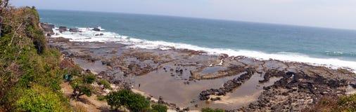 Rancabuaya plaża Zdjęcia Royalty Free