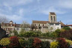 Rance, the picturesque village of Auvers sur Oise Royalty Free Stock Images