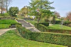 Rance, a public park in Villennes sur Seine Royalty Free Stock Image
