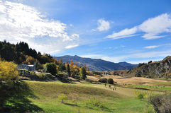 Ranch. Taken at somewhere Otago, New Zealand stock image