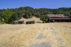 Ranch. Abandoned ranch in Sonoma County Stock Image