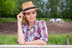 Ranch beauty. Royalty Free Stock Image