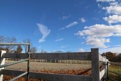 The Ranch. Blue skies at the ranch Royalty Free Stock Photos