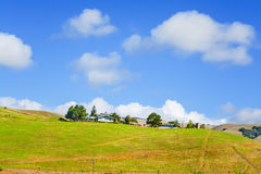 Ranch on a clear day Royalty Free Stock Photo