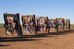 Ranch de Cadillac Photographie stock libre de droits