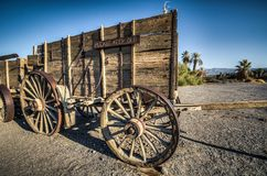 Ranch de crique de four de Death Valley Photographie stock libre de droits