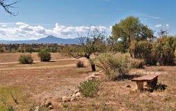 Ranch de Ghost près d'Abiquiu, Nouveau Mexique images libres de droits