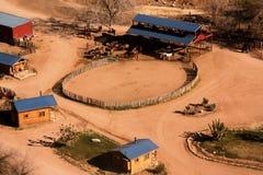 Ranch de gorge grande Images libres de droits