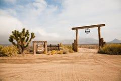 Ranch de vallée d'or Photo libre de droits