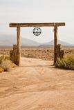 Ranch de vallée d'or Photographie stock