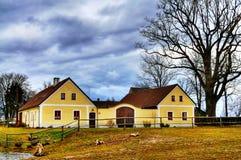 Ranch della Boemia del sud Immagini Stock
