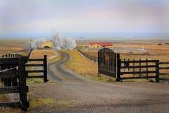 Ranch della famiglia Fotografia Stock Libera da Diritti