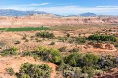 Ranch in der Waterpocket-Falte lizenzfreies stockfoto