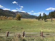 Ranch di Colorado Immagine Stock Libera da Diritti
