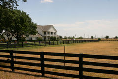 Ranch di Southfork vicino a Dallas Immagini Stock