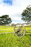 Ranch, die in Hawaii ficht Stockbild
