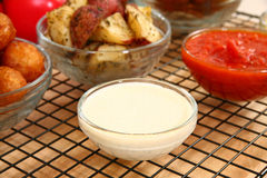 Ranch Dressing Royalty Free Stock Images