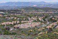 Ranch en bois Simi Valley California Photo stock