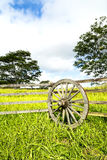 Ranch fencing in Hawaii Stock Image