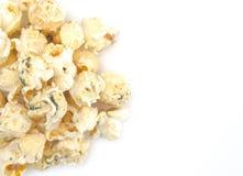 Ranch gewürztes Weißkäse-Popcorn stockbilder
