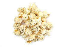 Ranch gewürztes Weißkäse-Popcorn lizenzfreies stockfoto