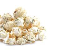 Ranch gewürztes Weißkäse-Popcorn stockbild
