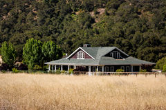 Ranch-Haus Stockfotografie