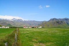 Ranch i Island Arkivbild