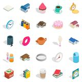 Ranch icons set, isometric style Stock Photography