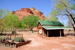 Ranch isolé de Dell au bac de Lees Photographie stock