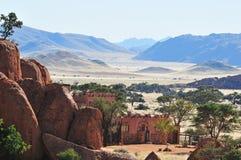 Ranch Koiimasis in Namibia Stock Photos