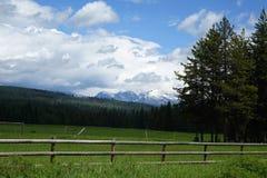 Ranch near Glacier, Montana Royalty Free Stock Photo
