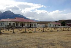 Ranch nel Cile Fotografie Stock Libere da Diritti
