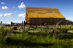 Ranch in Nevada lizenzfreie stockfotografie