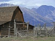 Ranch occidental Photographie stock libre de droits