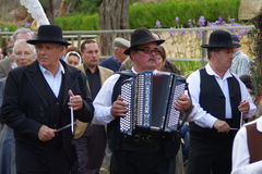 Ranch portoghese di folclore Fotografia Stock Libera da Diritti