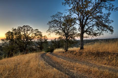 Ranch Road Sunrise Stock Photos