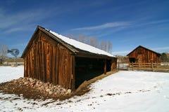 Ranch rustico Immagini Stock Libere da Diritti