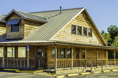 Ranch Style Restaurant Building Stock Image
