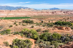 Ranch in the Waterpocket Fold. Ranching in the Waterpocket Fold, Grand Staircase - Escalante National Monument Royalty Free Stock Photo