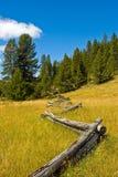Ranch-Zaun Stockbild