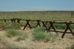 Ranch-Zaun stockbilder