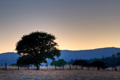 Rancheria Sunset Stock Images