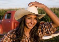 Ranchero de sexo femenino Fotografía de archivo libre de regalías