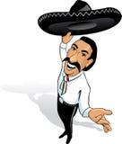 Ranchero mexicano stock de ilustración