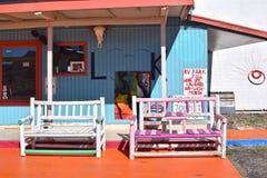 Rancheromotel, Kingman, Route 66 royalty-vrije stock foto