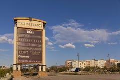 Ranchhotellet för den gröna dalen undertecknar in Las Vegas, NV på Augusti 20, 201 Arkivbilder
